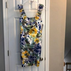 Maggy London floral dress - size 4